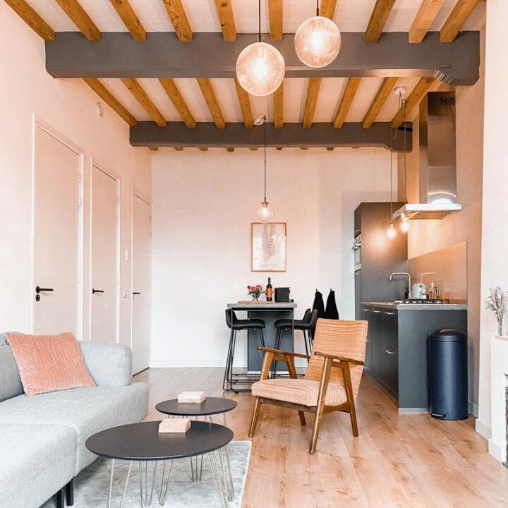 Appartement in warme kleuren