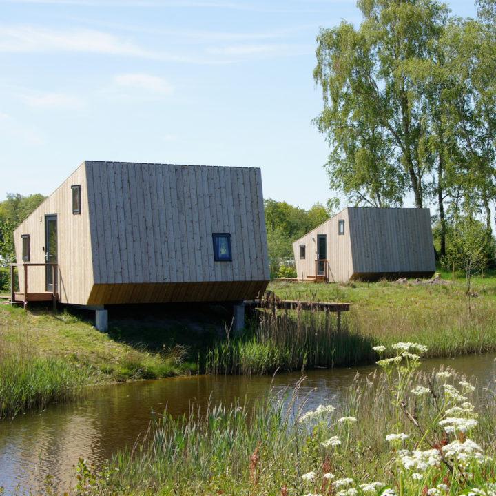 Tiny Lodges op het erf