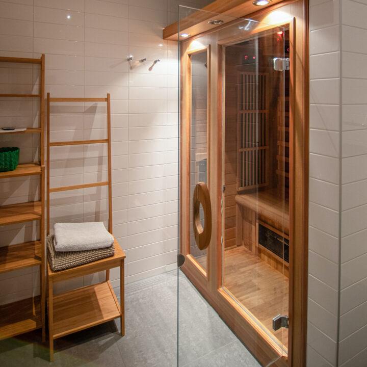 Sauna in het vakantiehuis voor 8 personen