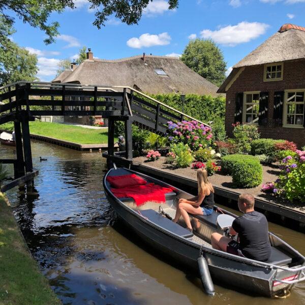 Fluisterboot verhuur in Giethoorn