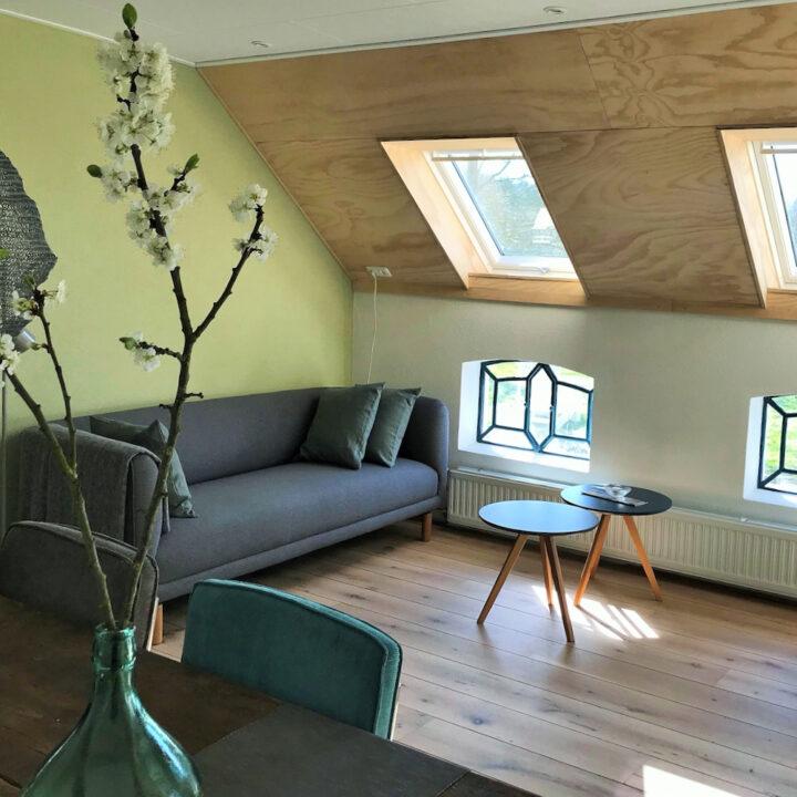 Ruim appartement voor gasten in Groningen