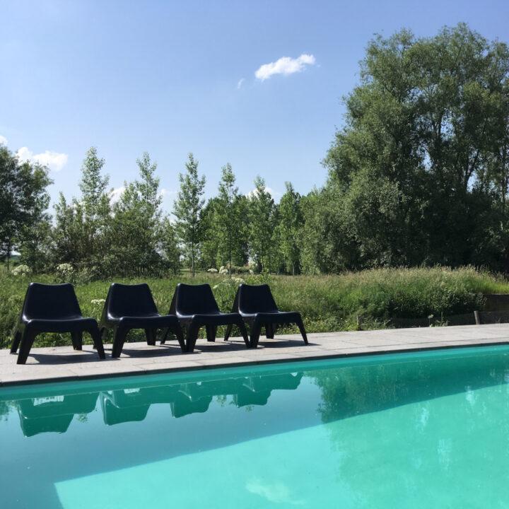B&B met zwembad in België