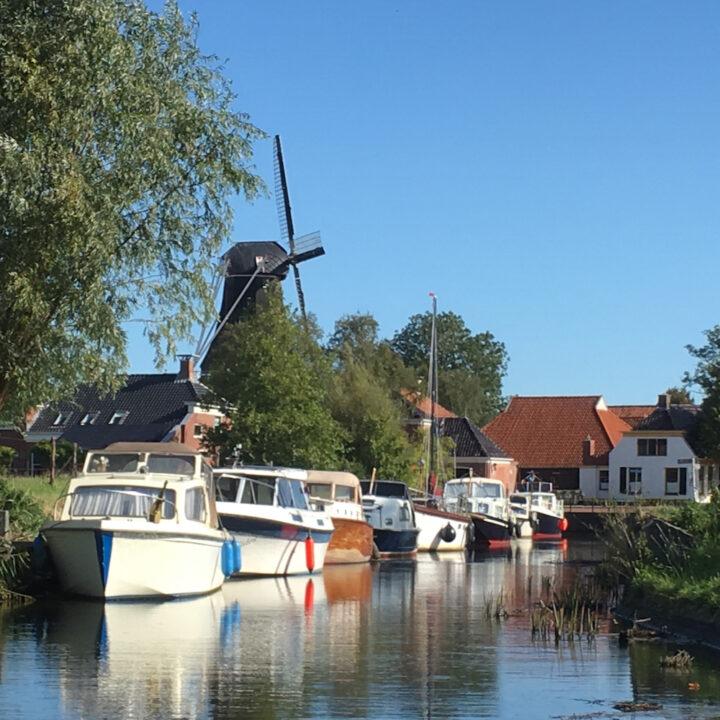 Een dagje uit en varen in Groningen