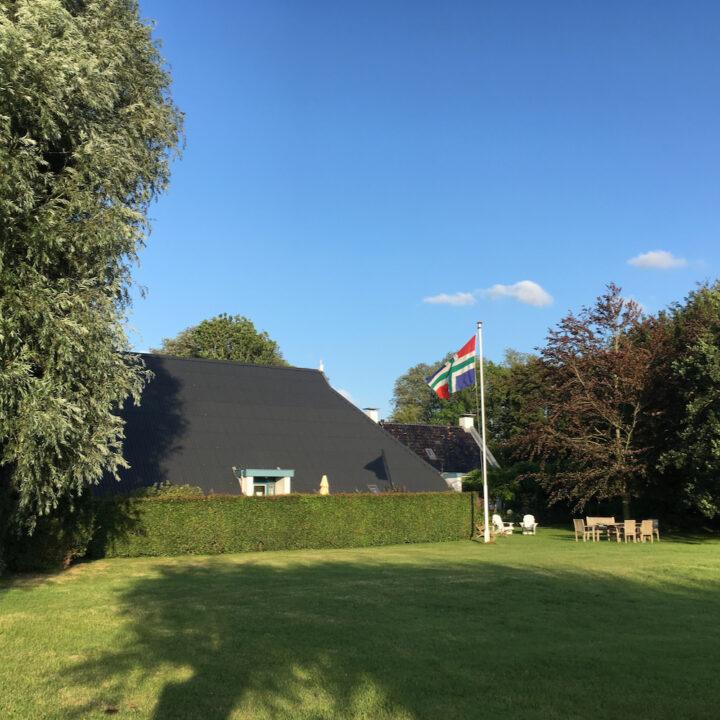 De boerderij van Landgoed Wildenheerd in Groningen