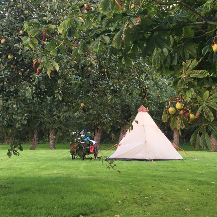 Kleine camping, een natuurkampeerterrein in Groningen
