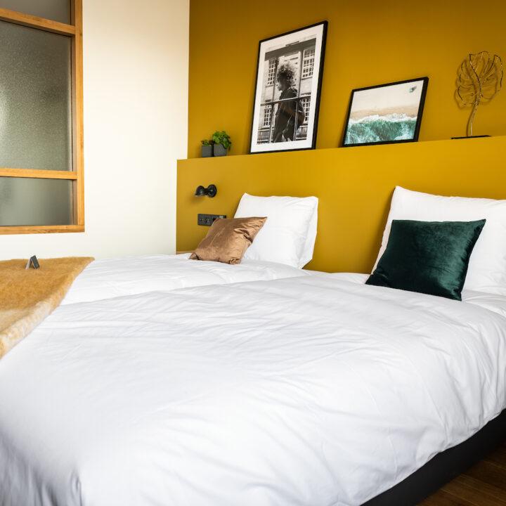 Hotelkamer van Hotel de Beerze in Brabant