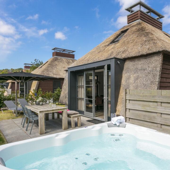 Luxe vakantiewoning op een klein park in Nederland