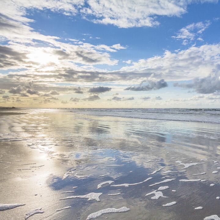 De zee bij Ameland