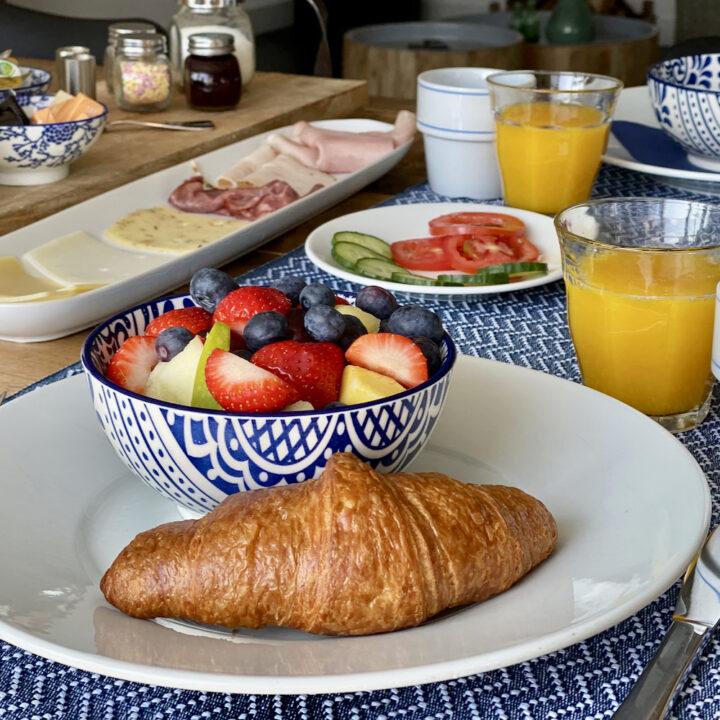 Ontbijt bij Nieuw Leven op Texel