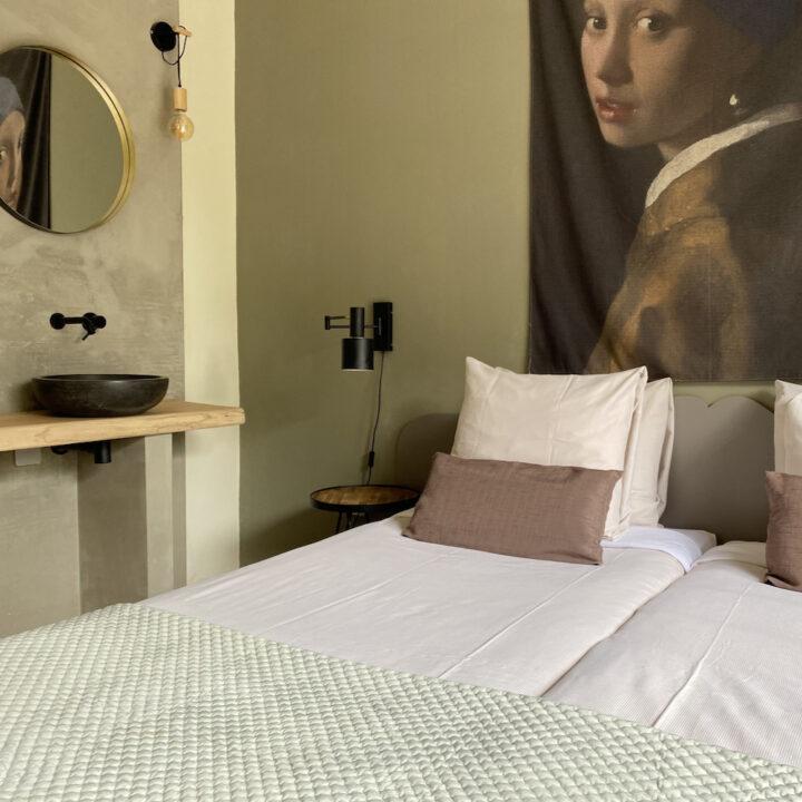 Hotelkamer van hotel Hoog Soeren op de Veluwe