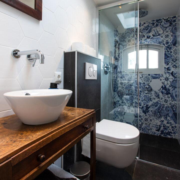 Badkamer in de molen