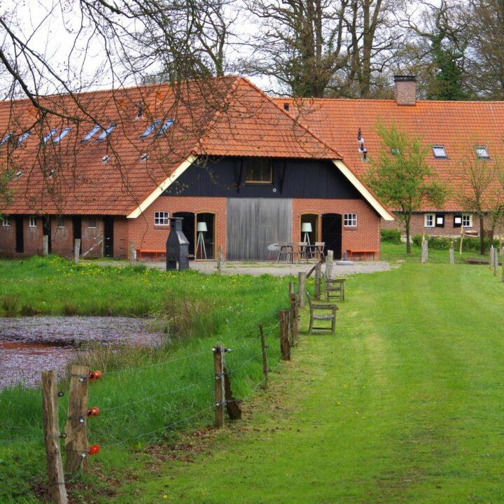 Boerderijlodges op Landgoed Twickel in Twente
