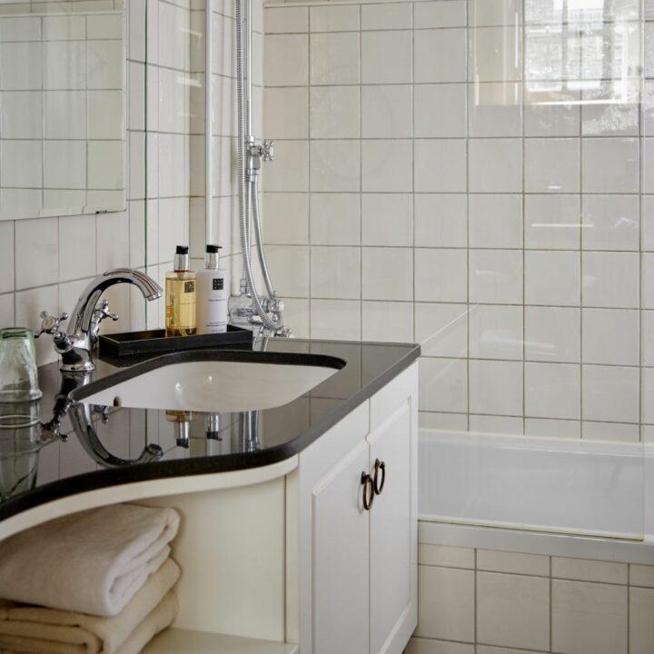 Badkamer van een van de B&B kamers