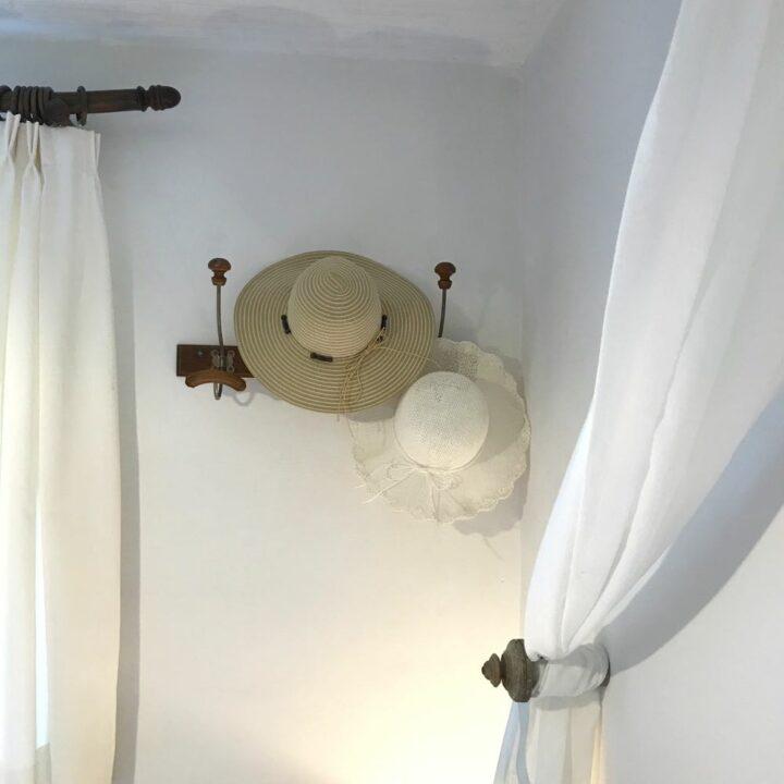 Details op de slaapkamer in de Shetlandhoeve
