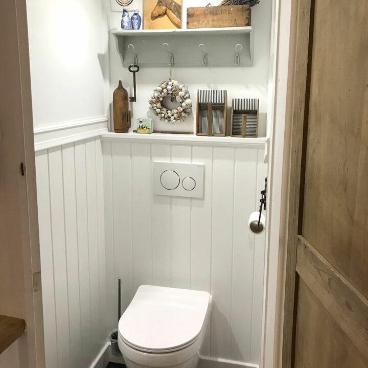 Toilet in de Shetlandhoeve