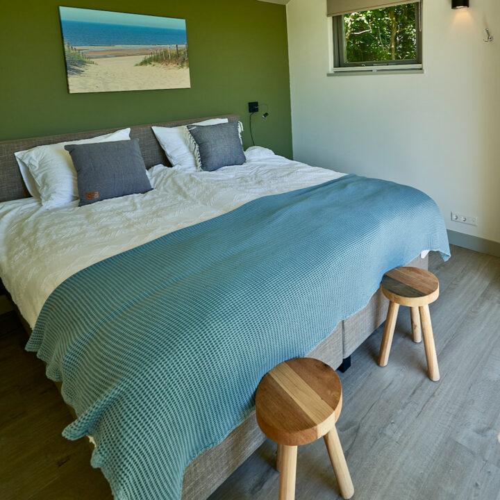 Slaapkamer in het vakantiehuis