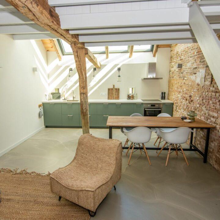 Modern appartement niet ver van Deventer