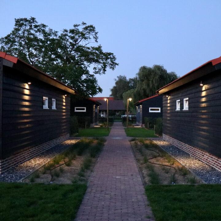Rijtje huisjes in Noord-Limburg