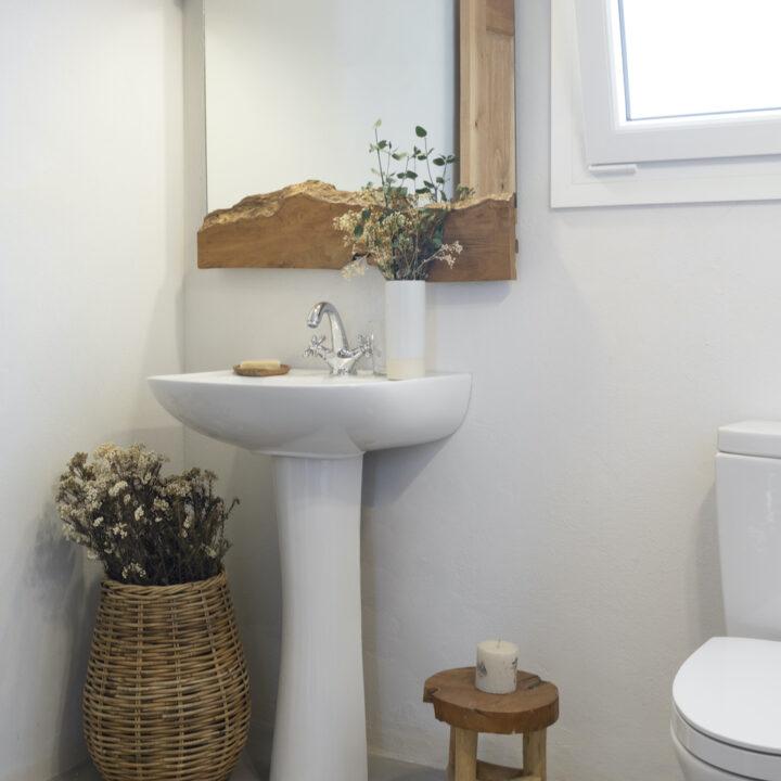 Eenvoudige badkamer
