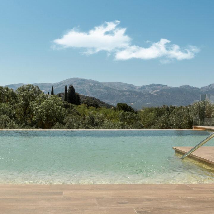 Infinity pool in Spanje
