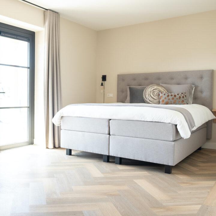 Slaapkamer in B&B in de Bollenstreek met de naam Haas