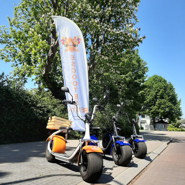 E-scooters in Hillegom