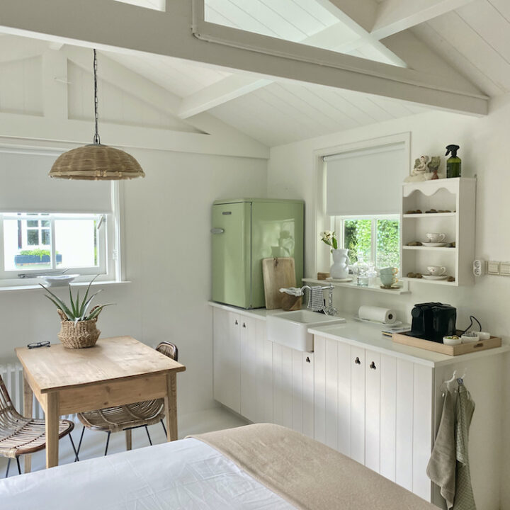 Keukenblok in de B&B in Middelburg