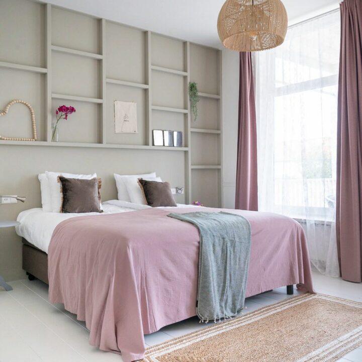 Trendy hotelkamer in de Stadsherberg