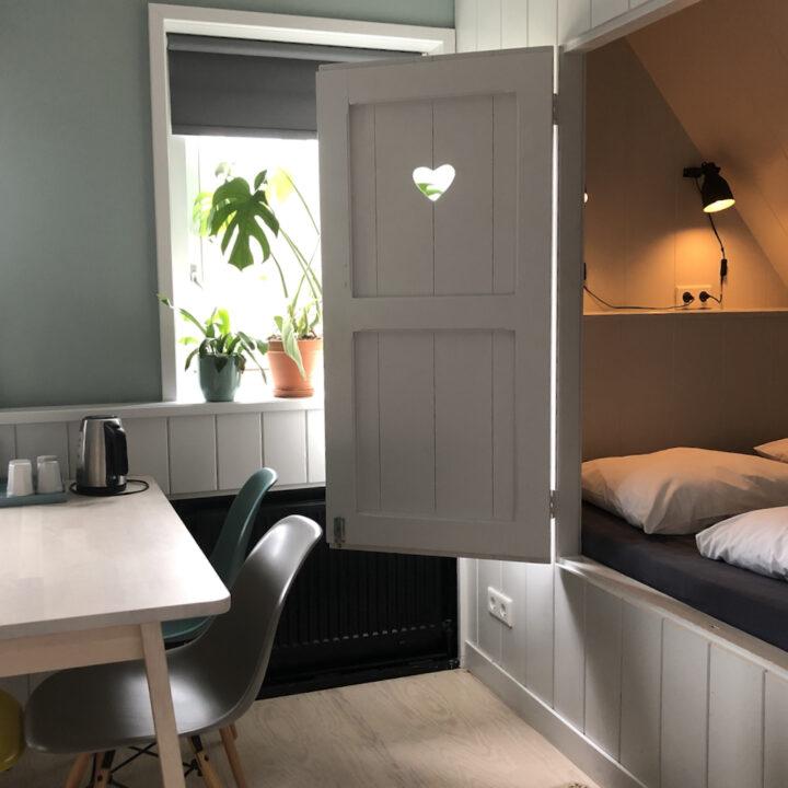 Bedstee kamer in Winsum