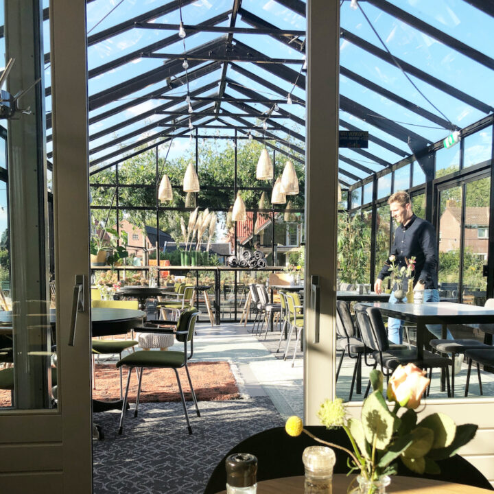 Kas met restaurant bij Marenland
