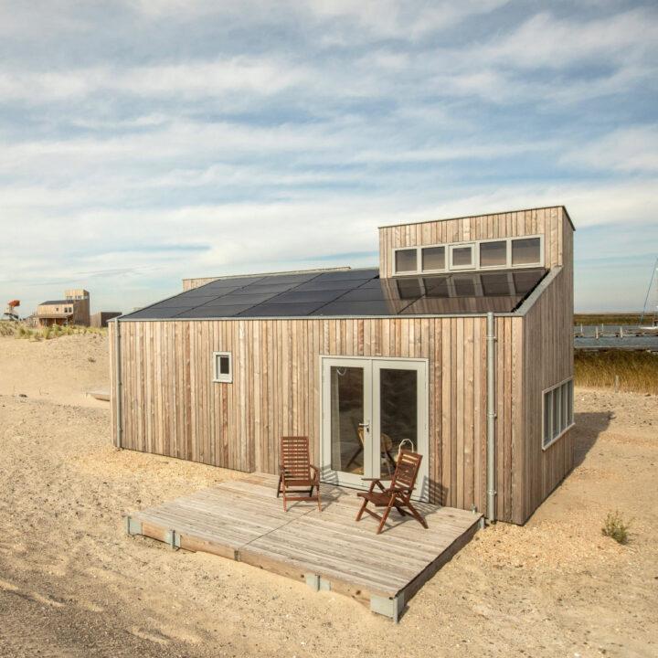 Vrijstaand vakantiehuis, duurzaam gebouwd