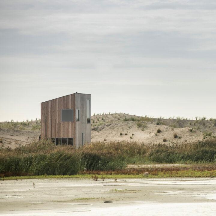 Vrijstaand design duurzaam huisje Landal Marker Wadden