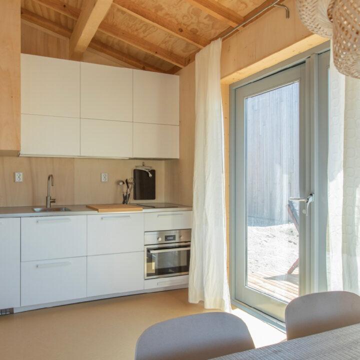 Keuken in huisje Landal Marker Wadden