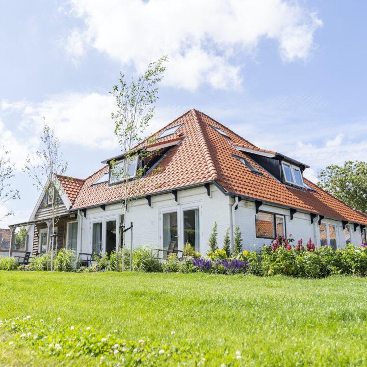 Gastrofarm op Texel, een witte boerderij