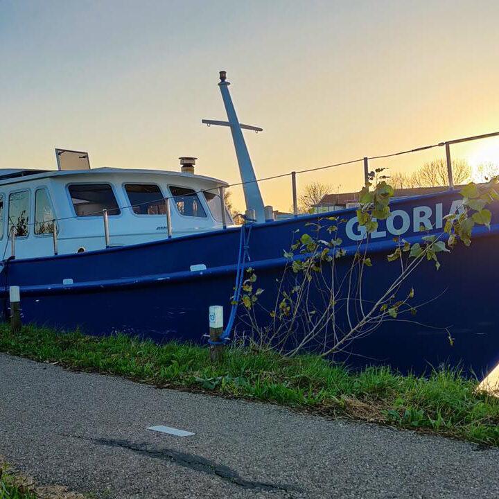 Boot als vakantiehuis te huur