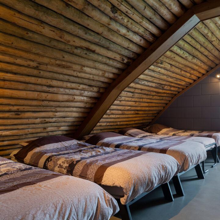 Vier persoons slaapkamer in een Grondulow