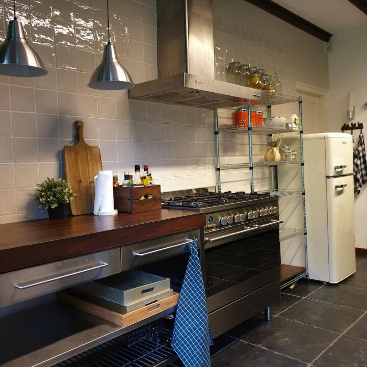 Keuken in het vakantiehuis in de Achterhoek