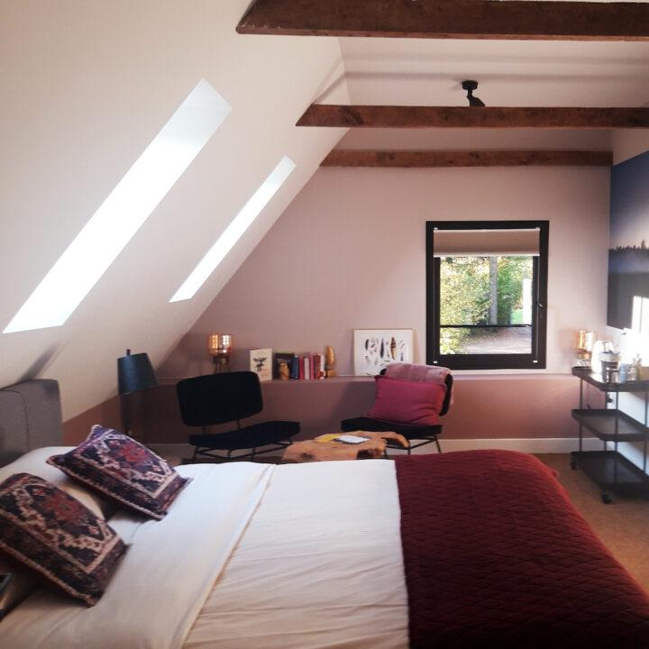 Slaapkamer in de B&B in Twente