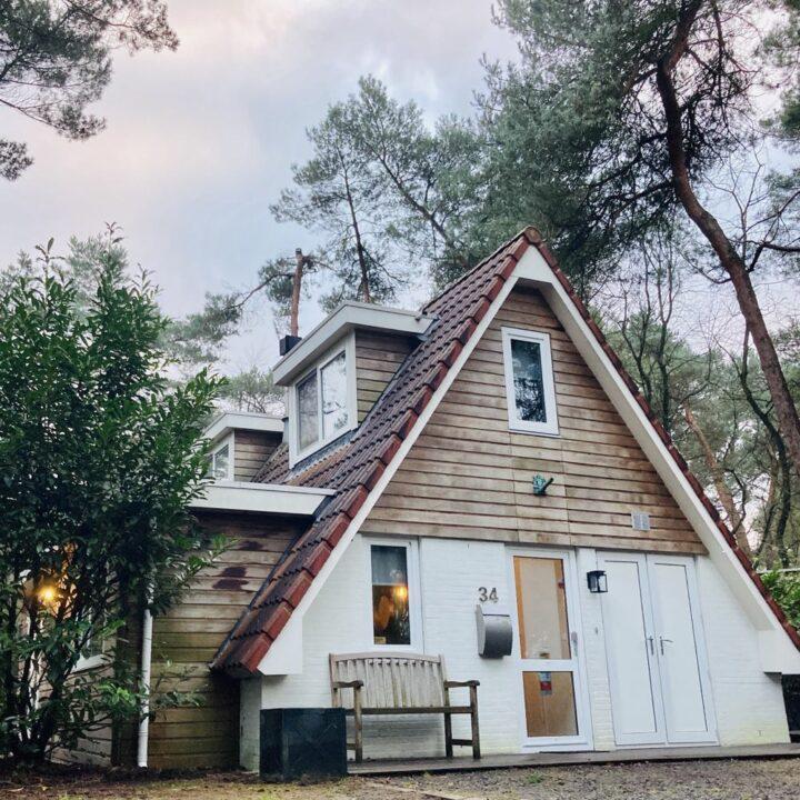 Vakantiehuisje op een klein vakantiepark bij Ommen
