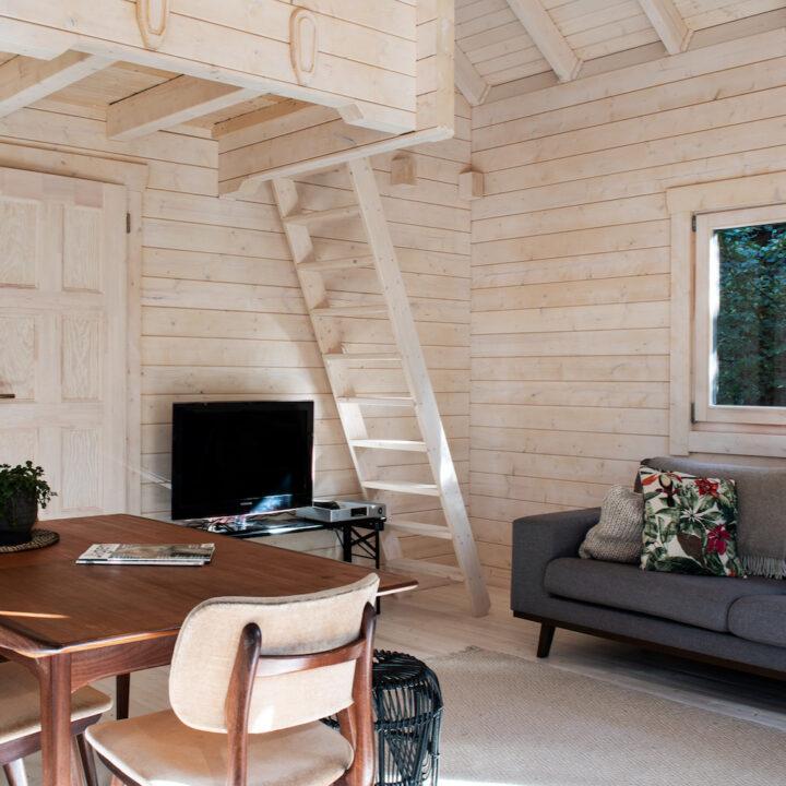 Knusse cabin in Schoorl
