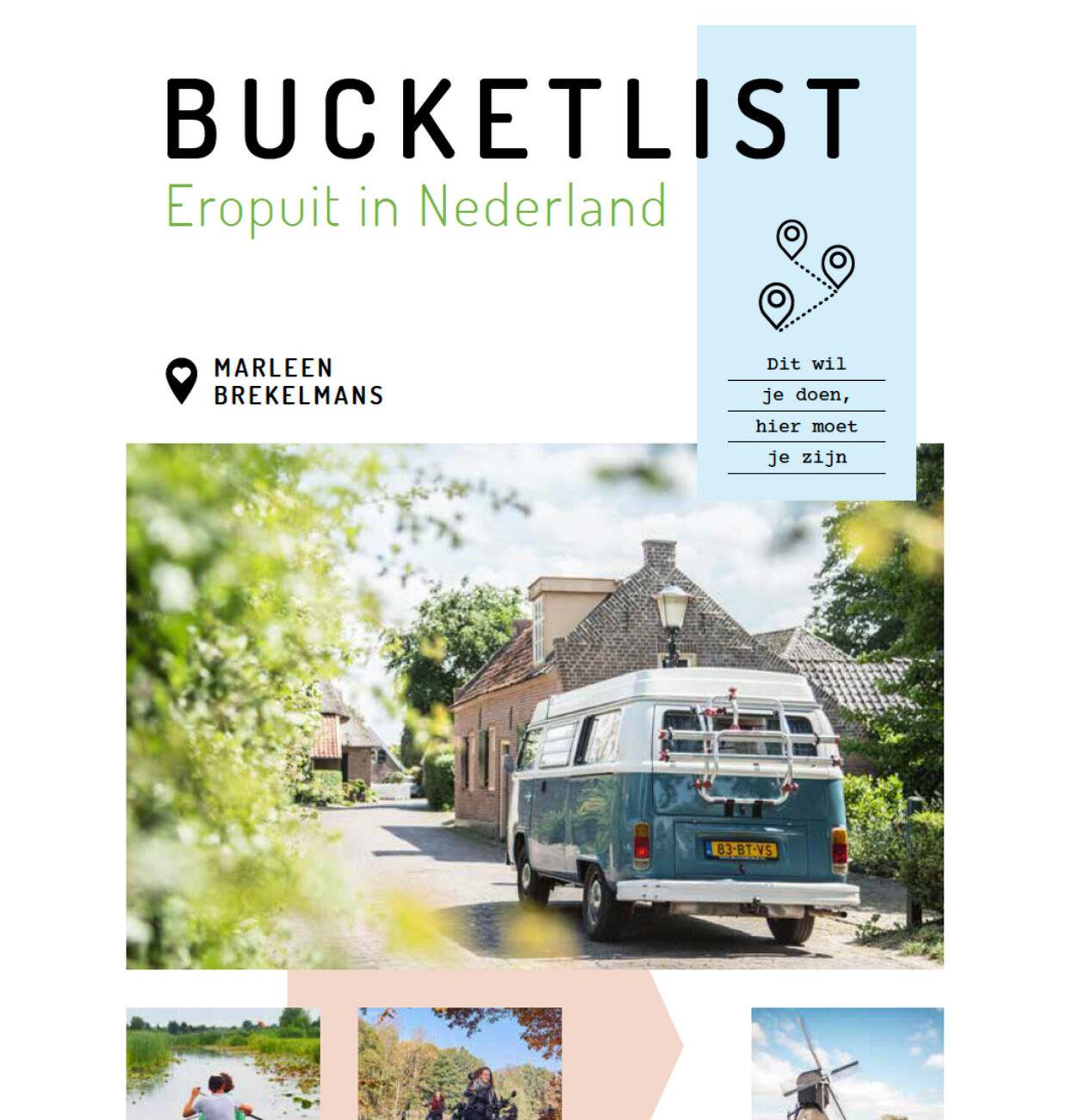Cover van het boek Eropuit in Nederland