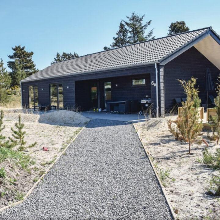 Modern en nieuw gebouwd vakantiehuis in het Deense Blåvand