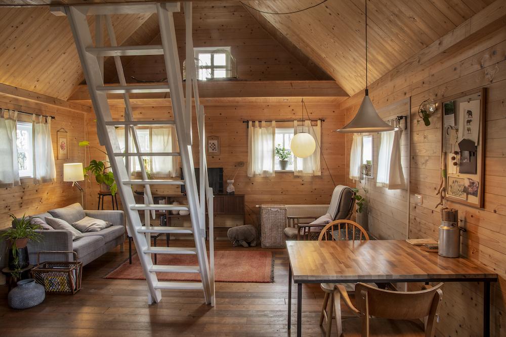 Knus houten huisje voor een weekendje weg of vakantie