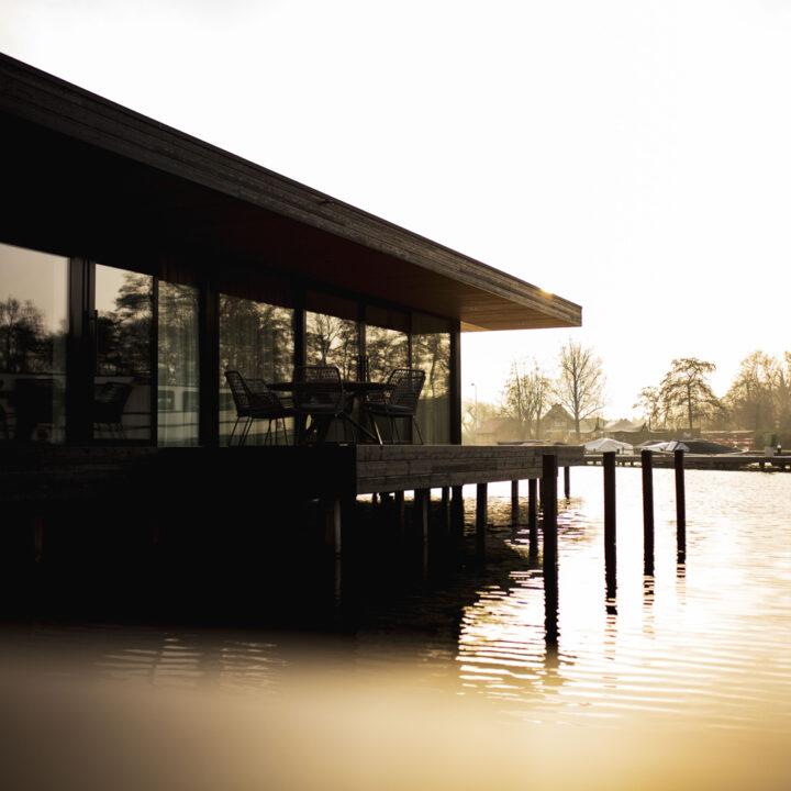 Exclusieve vakantiehuizen op het water