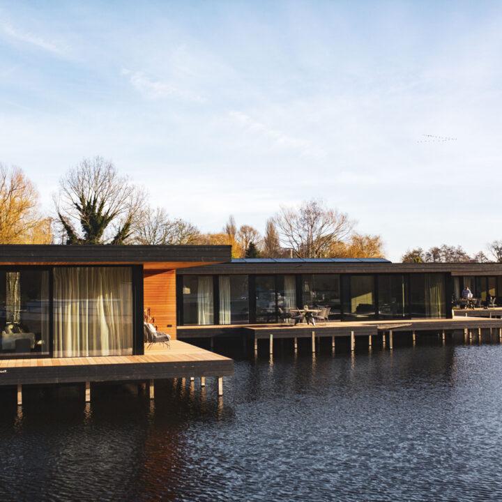 Exclusieve watervilla's in Kortenhoef