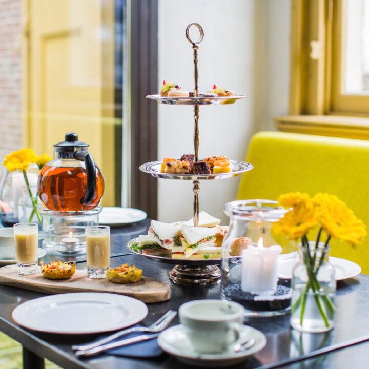 High tea bij Grand Café Groeneveld in Baarn