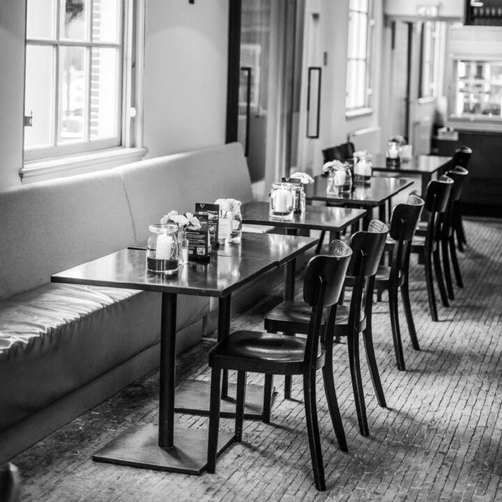 Grand Café Groeneveld in Baarn is sfeervol ingericht