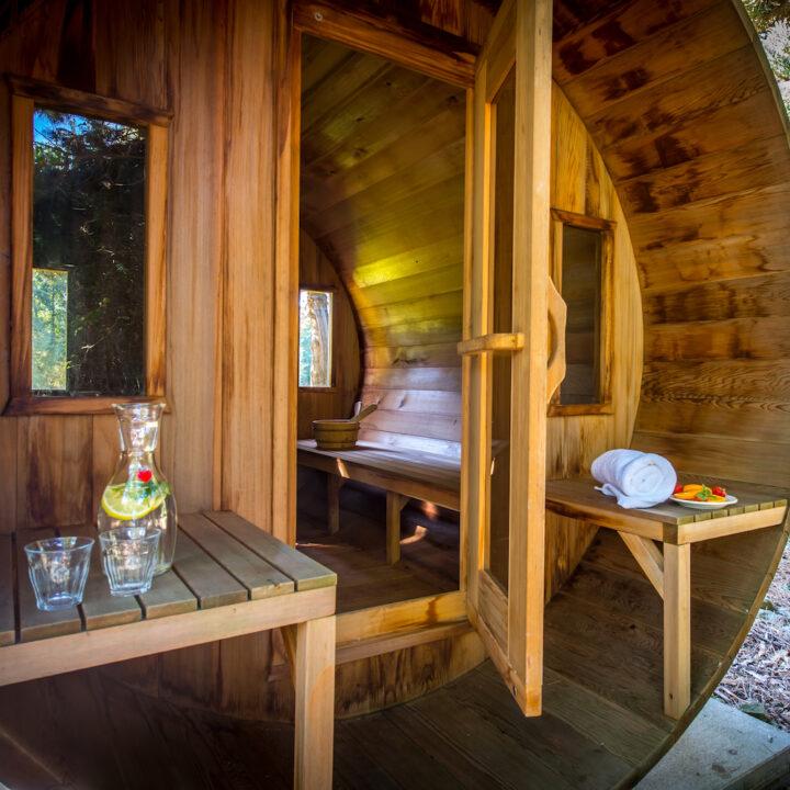 Sauna bij de Steurshoeve