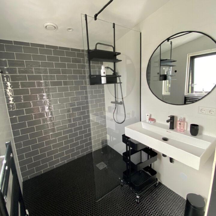 Luxe badkamer in het vakantiehuis in Callantsoog