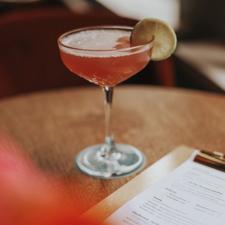 Cocktails in de bar van hotel in Deventer